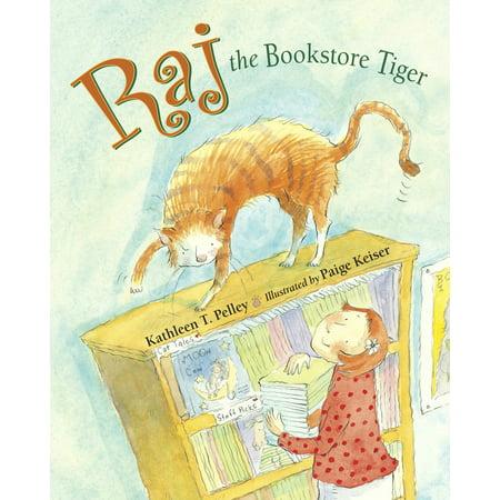 Raj the Bookstore Tiger](Carnival Bookstore)