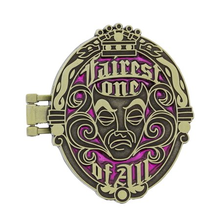 Disney Parks Evil Queen Fairest One Mirror Pin New with Card
