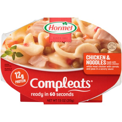 Hormel Compleats Chicken & Noodles, 7.5 oz