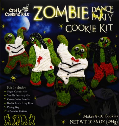 Crafty Cooking Kits Cookie Kit, Zombie Dance Party