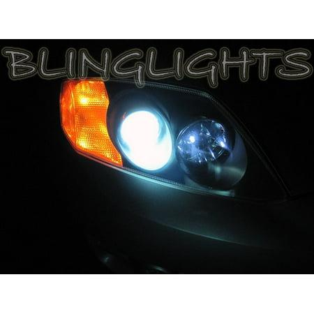 1997 2008 Hyundai Tiburon Coupe Tuscani White Bulbs For Headlamps Headlights Head Lamps Lights