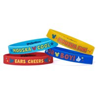 Mickey Mouse Clubhouse Party Favor Rubber Bracelets, 4ct