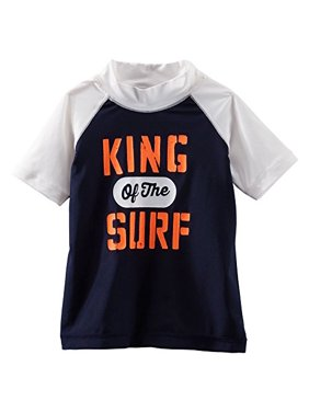 OshKosh B'gosh Baby Boys' King of the Surf Rashguard - 18 Months