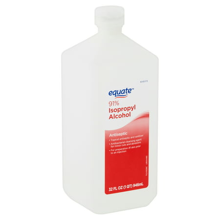 Equate 91% Isopropyl Alcohol Antiseptic, 32 fl oz