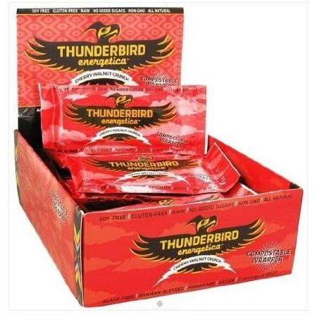 Thunderbird Crunch Bar Cherry + Walnut +Cinnamon 1.7 OZ (Pack of 15)