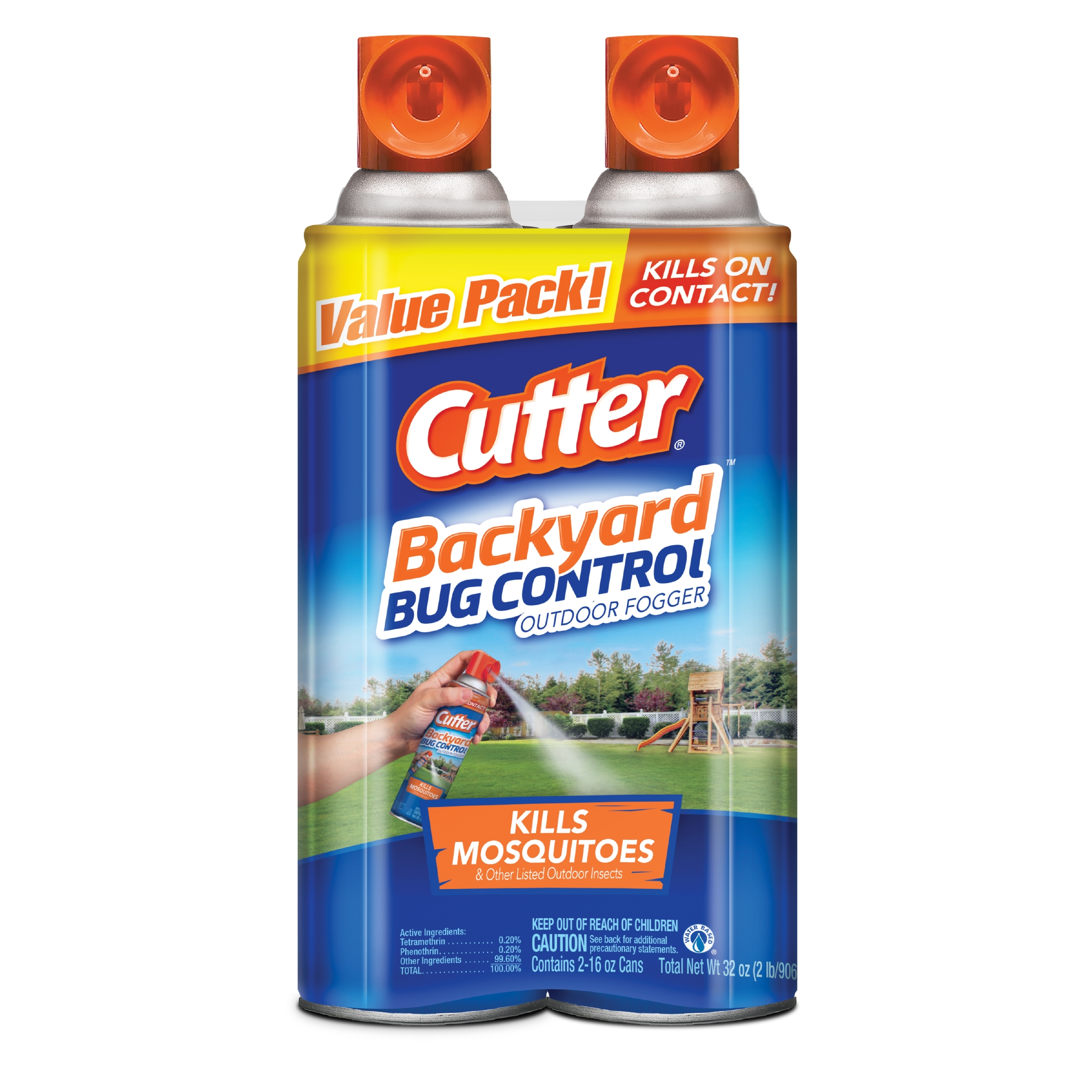 Cutter Backyard Bug Control 2 X 16 Oz Outdoor Insect
