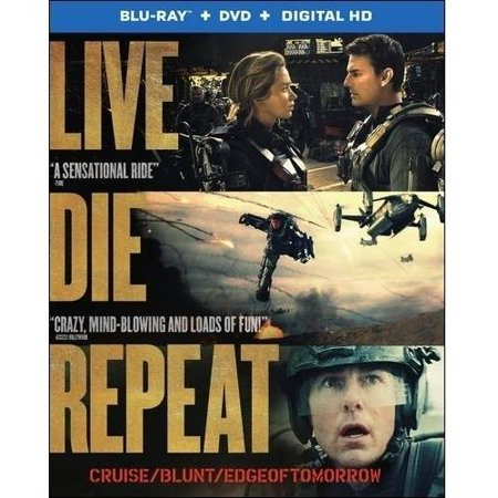 Live Die Repeat  Edge Of Tomorrow  Blu Ray   Dvd   Digital Hd With Ultraviolet   With Instawatch