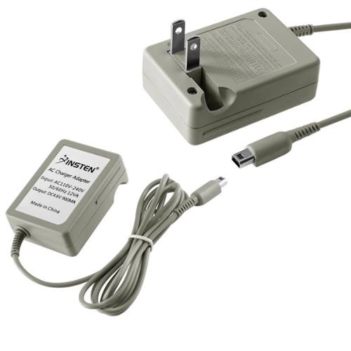 Insten Travel AC Wall Travel Charger for Nintendo DSi / DSiXL / DSiLL / 3DS XL LL 2DS 3DS (Premium Rapid Folding)