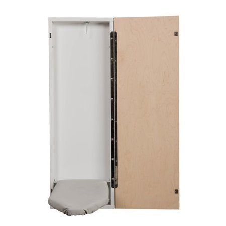Handi Press Wall Mount Fold Away Built In Ironing Board