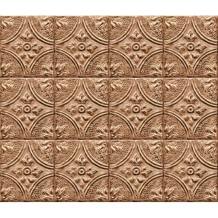 (Copper Tin Tile Peel & Stick Backsplash)