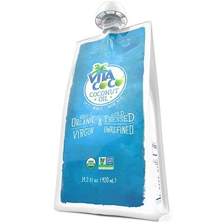 Vita Coco Organic Virgin Coconut Oil, Squeeze Pouch, 14 2 Fl