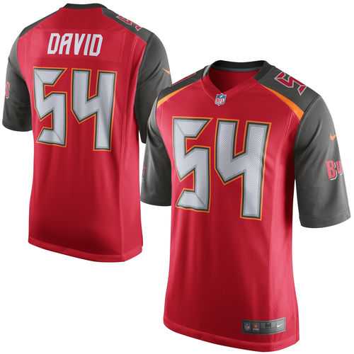 Mens Tampa Bay Buccaneers Lavonte David Nike Red Game Jersey