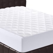 """Twin Mattress Pad Cover, 16"""" Deep Pocket Mattress Topper, Soft Quilted Bed Protector"""
