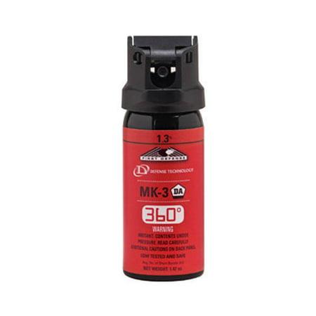 Defense Technology 56833 Mk 3 1 47 Oz First Defense 360  1 3  Strength Oc Spray