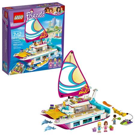 LEGO Friends Sunshine Catamaran 41317 (603 (Lego Friends Catamaran Best Price)