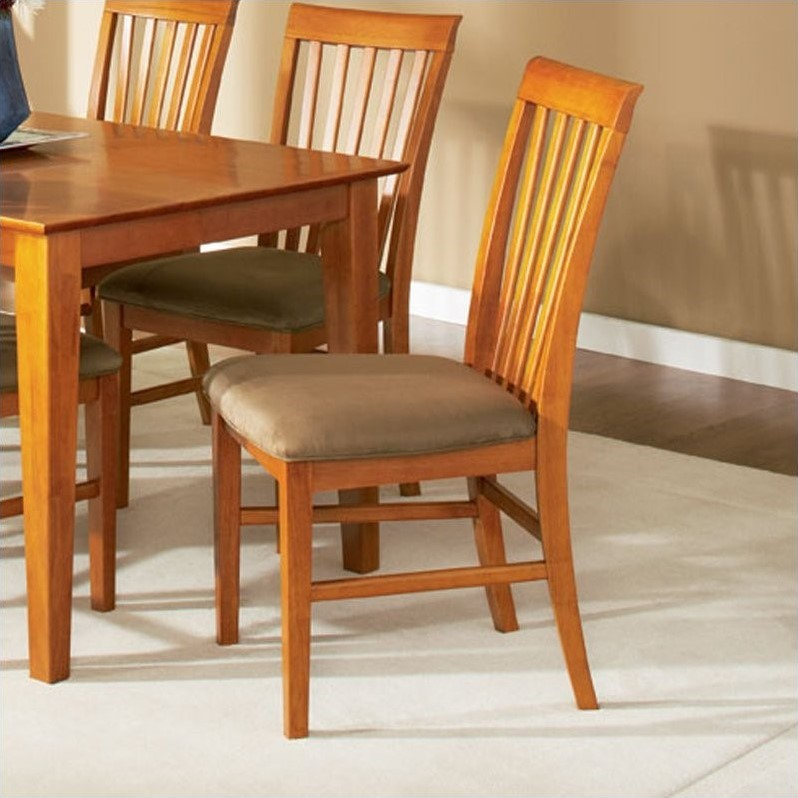 Atlantic Furniture Mission  Dining Chair in Caramel Latte...