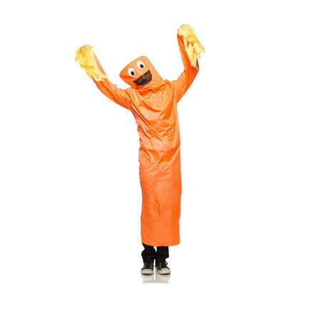 Wild Waving Tube Guy Adult Halloween Costume (Guy With Beard Halloween Costumes)