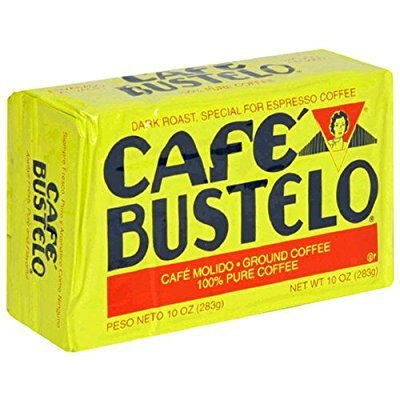 Caf Bustelo Espresso Coffee, 10 ounce packs (Pack of 6) by