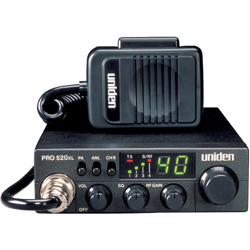 Uniden PRO520Xl 7W 40-Channel Compact CB Radio