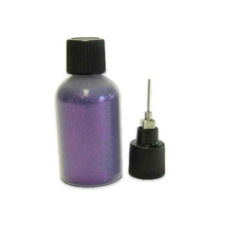 Purple Velvet: 20 grams Super Fine Cosmetic Body Safe Glitter for Henna in Precision Poof Bottle