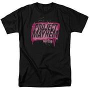 Fight Club Project Mayhem Mens Short Sleeve Shirt
