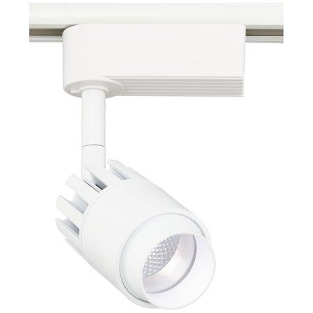 "Pro Track Lightolier Compatible 3 1/4"" 10 Watt LED Track Head in White"