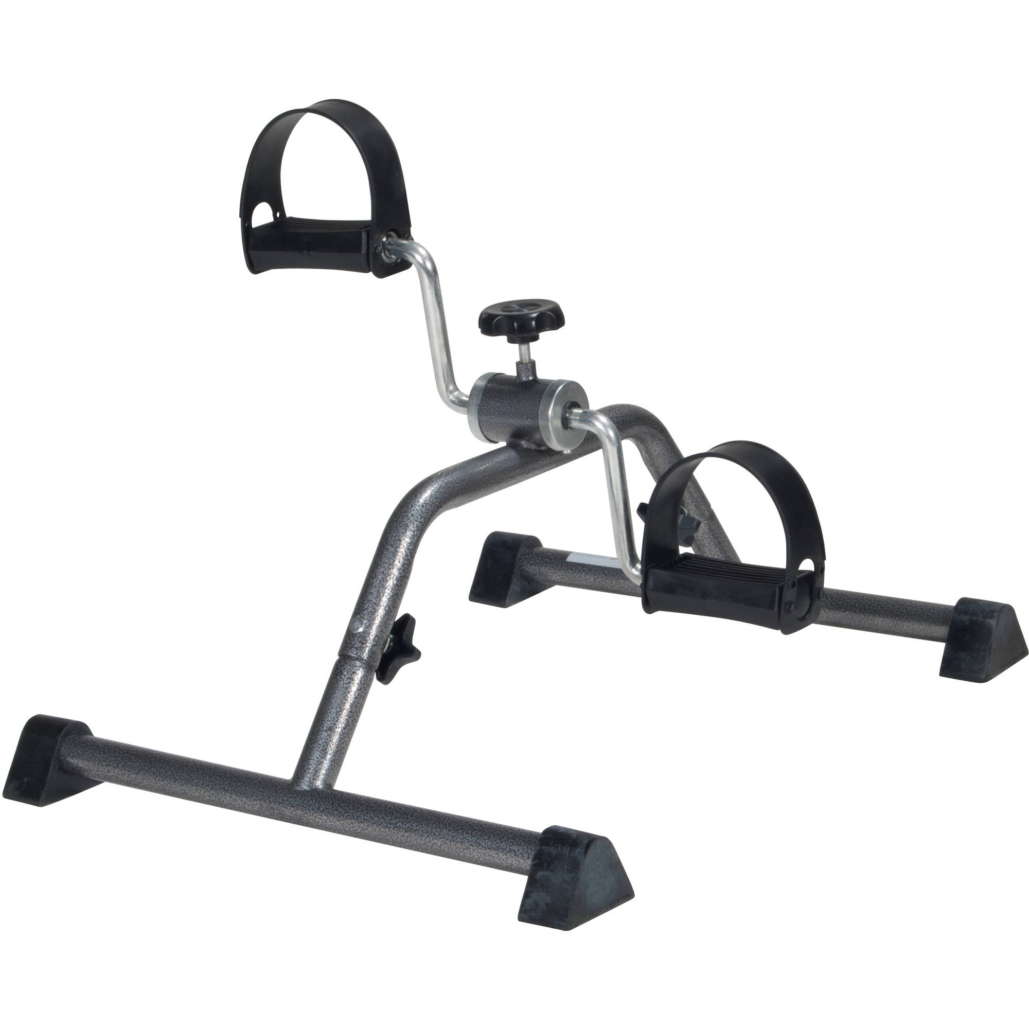 Drive Medical Exercise Peddler with Attractive Silver Vein Finish by Drive Medical Exercise Peddler