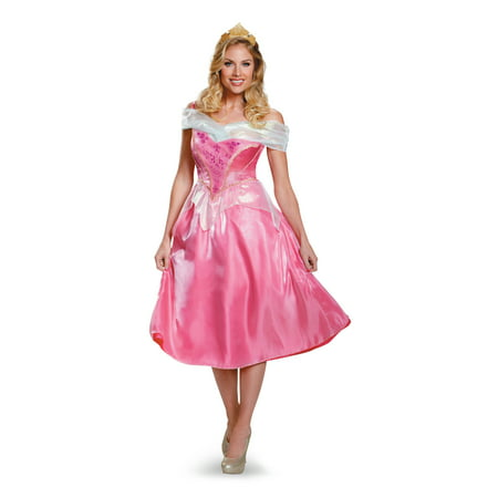 Princess Aurora Disney's Sleeping Beauty Womens Deluxe Costume DIS85694 - Small](Womens Sleeping Beauty Costume)