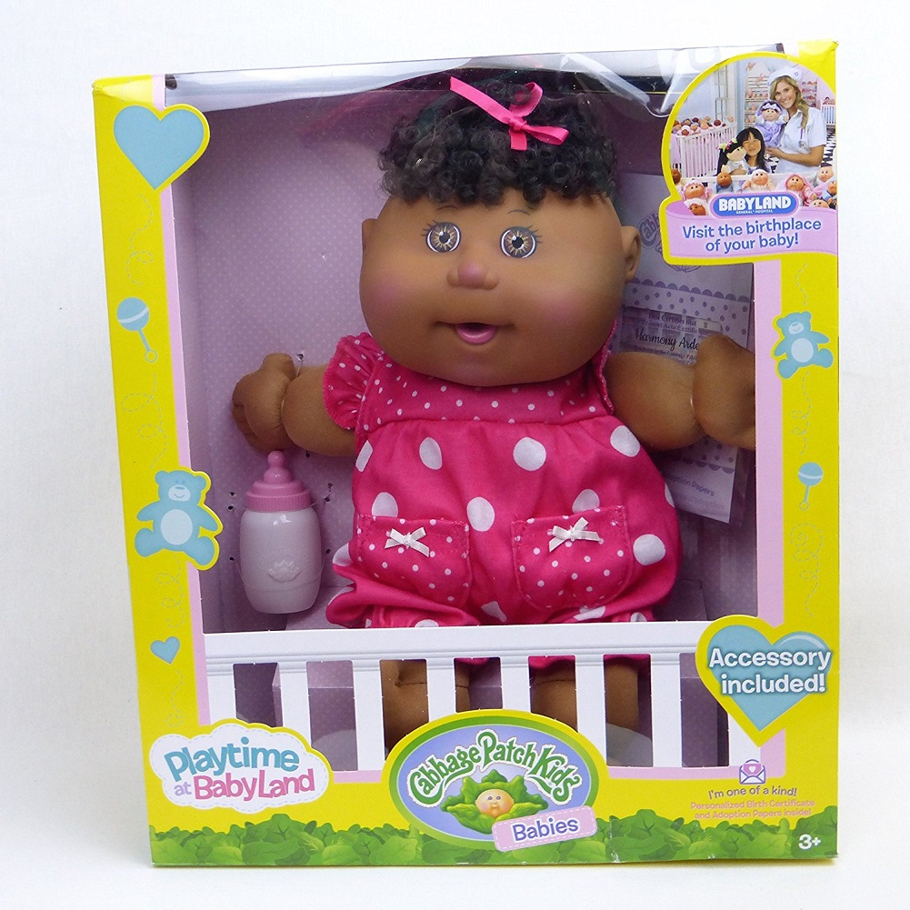 Cabbage Patch Kids Babies Playtime at Babyland African American by