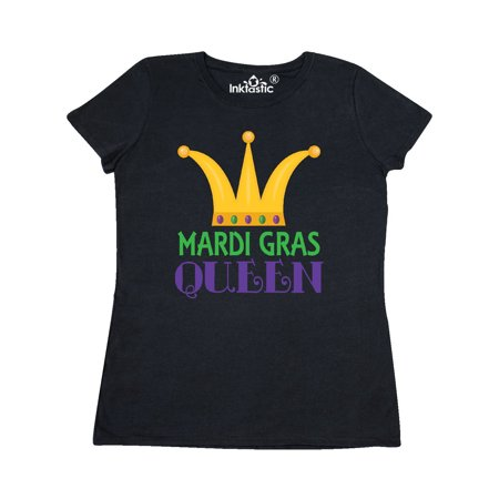 Mardi Gras Queen Crown Women's T-Shirt ()