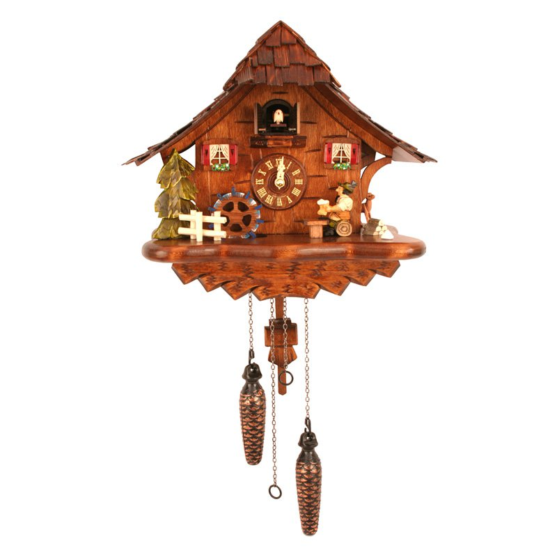 Black Forest 12.5-Inch Wide Beer Drinker Cuckoo Clock by Black Forest