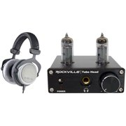 Beyerdynamic DT-880-PRO-250 Studio Monitoring Headphones + Tube Headphone Amp