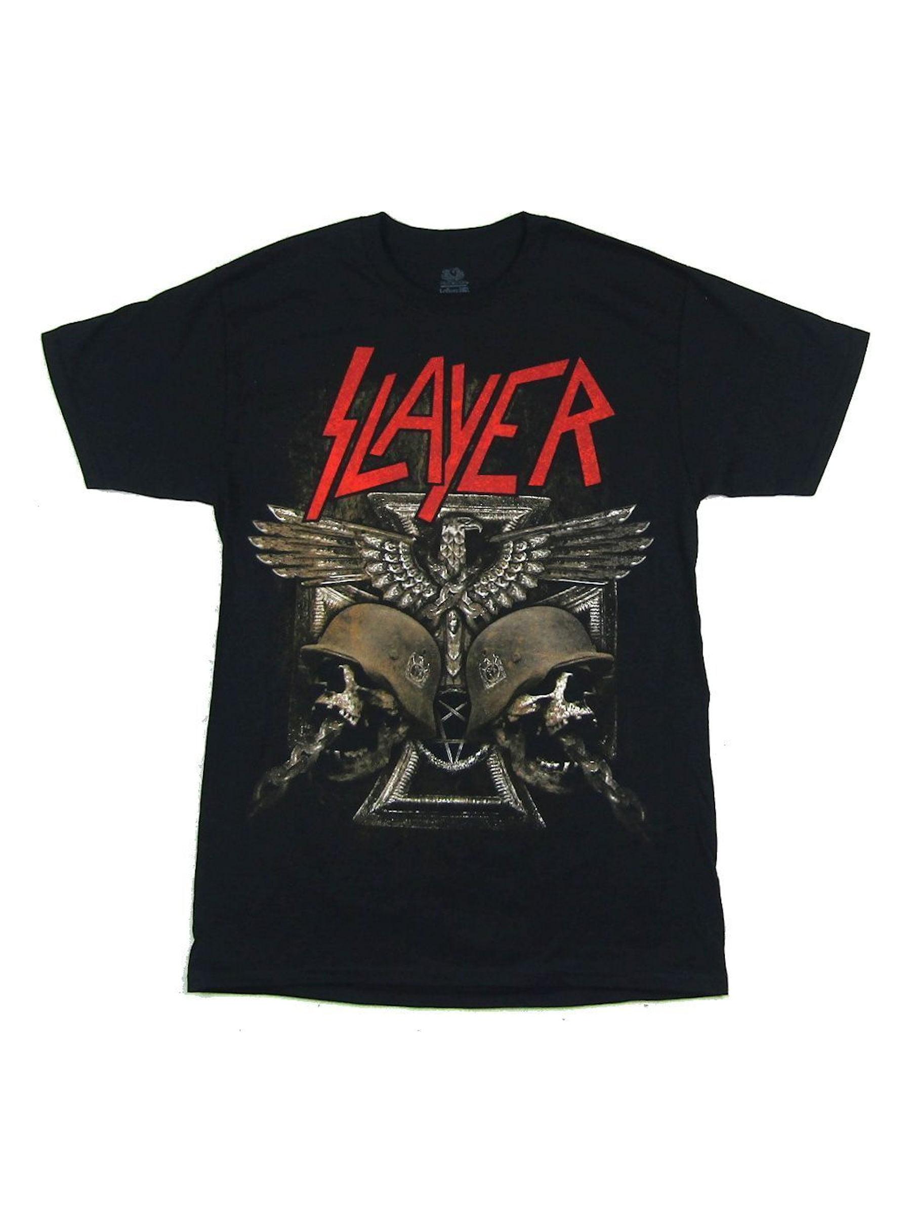 Slayer Arsenal Metal Skull Bullets Black T Shirt New Official Band Merch