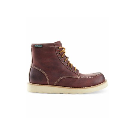 Eastland Mens Lumber Up Leather Round Toe Ankle Fashion, Oxblood, Size 14.0