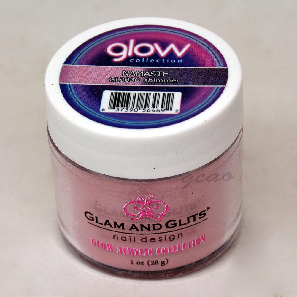Glam and Glits GLOW ACRYLIC Glow in the Dark Nail Powder 2036 Namaste