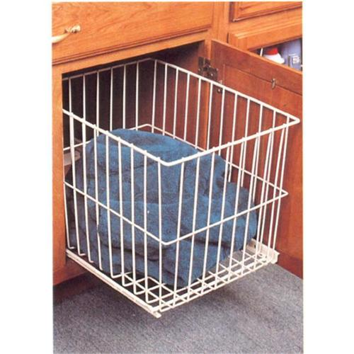 KV FEH 1515WH 14. 63 inch Roll outWire Hamper