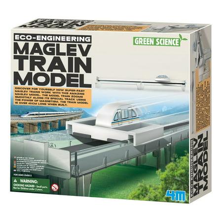 4M Eco-Engineering MAGLEV Train Model