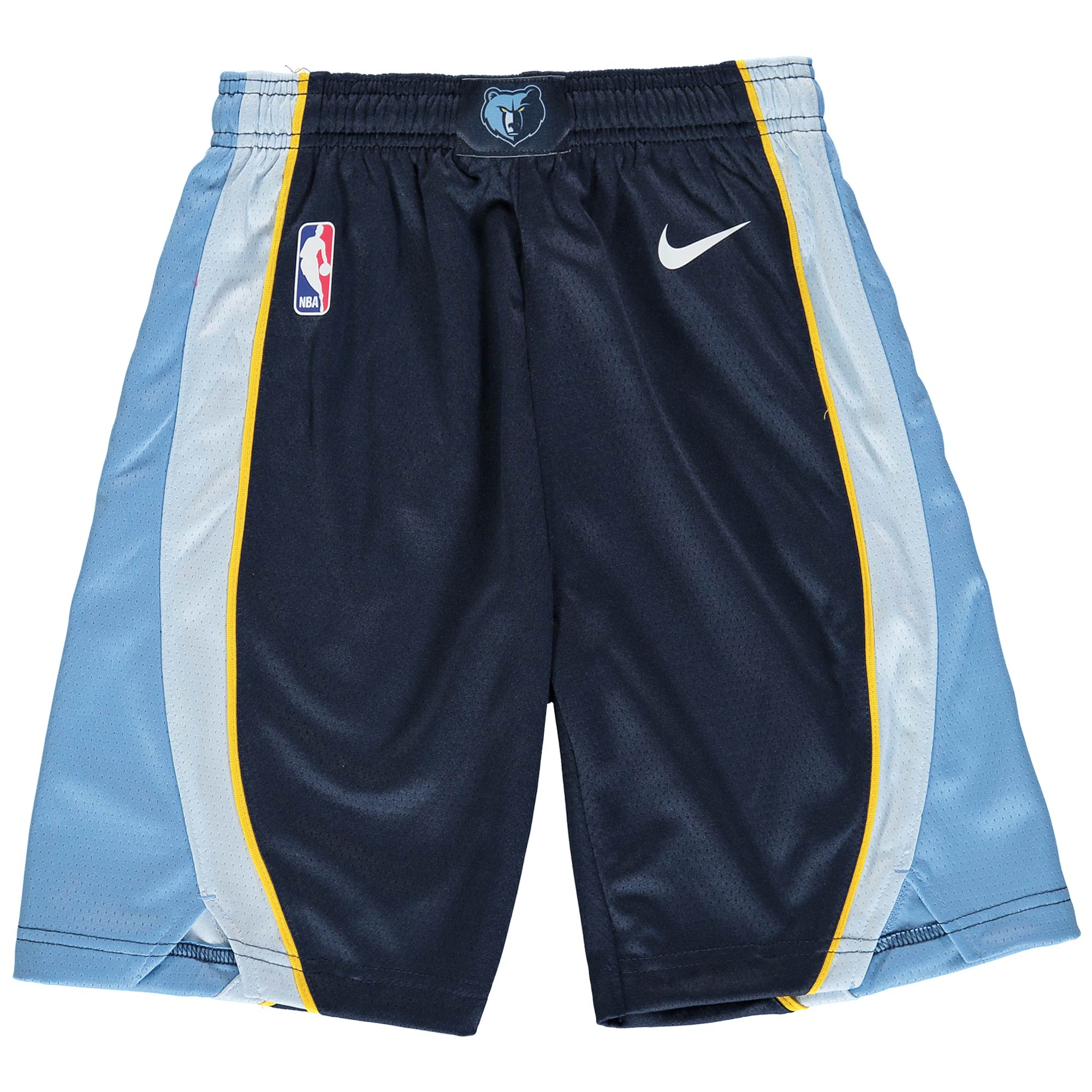 Memphis Grizzlies Nike Youth Swingman Icon Performance Shorts - Navy/Light Blue