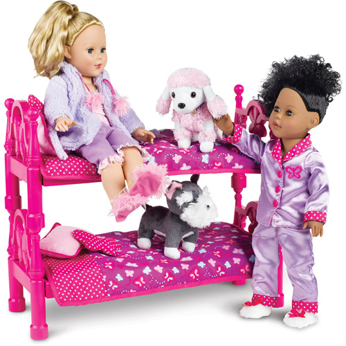 My Life As Bed With Bedding 18 Doll Pink Walmart Com