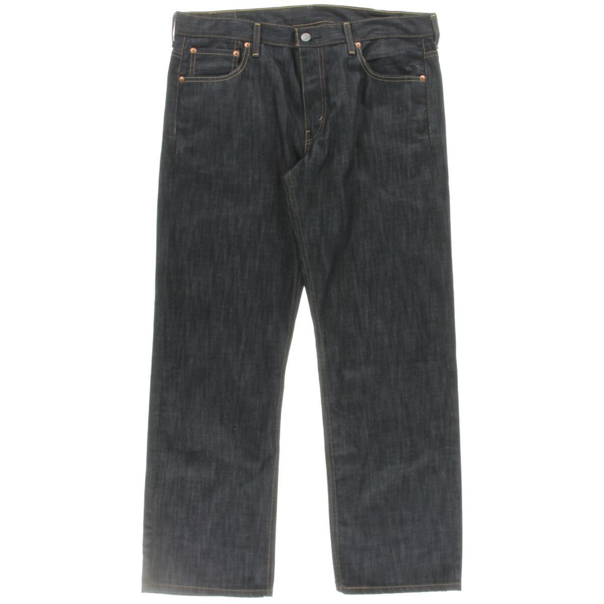 Levi's Mens 569 Loose Fit Indigo Wash Straight Leg Jeans