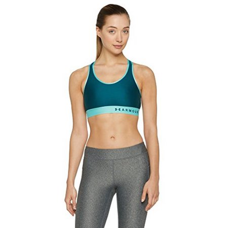 Under Armour Womens Armour Mid Keyhole Bra (Best Bra To Wear Under Tank Tops)