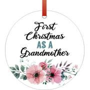 Ornaments Baby Christmas Ornaments Grandma 1st Christmas Grandmother Ornament Christmas Décor