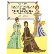 Dover Victorian Paper Dolls: Great Fashion Designs of the Victorian Era Paper Dolls in Full Color (Paperback)