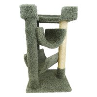 New Cat Condos 33 in. Cat Scratch and Lounge