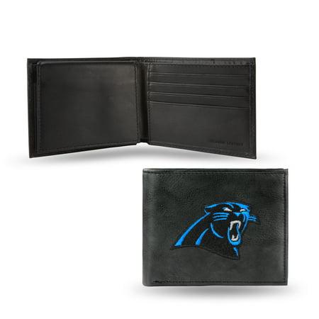 cheap carolina panthers leather wallet