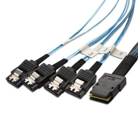 Cable Matters Internal Mini SAS to SATA Cable (SFF-8087 to SATA Forward Breakout) 3.3 -
