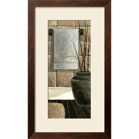 Modern Bath Panel II Framed Art Print Wall Art By Megan Meagher ...