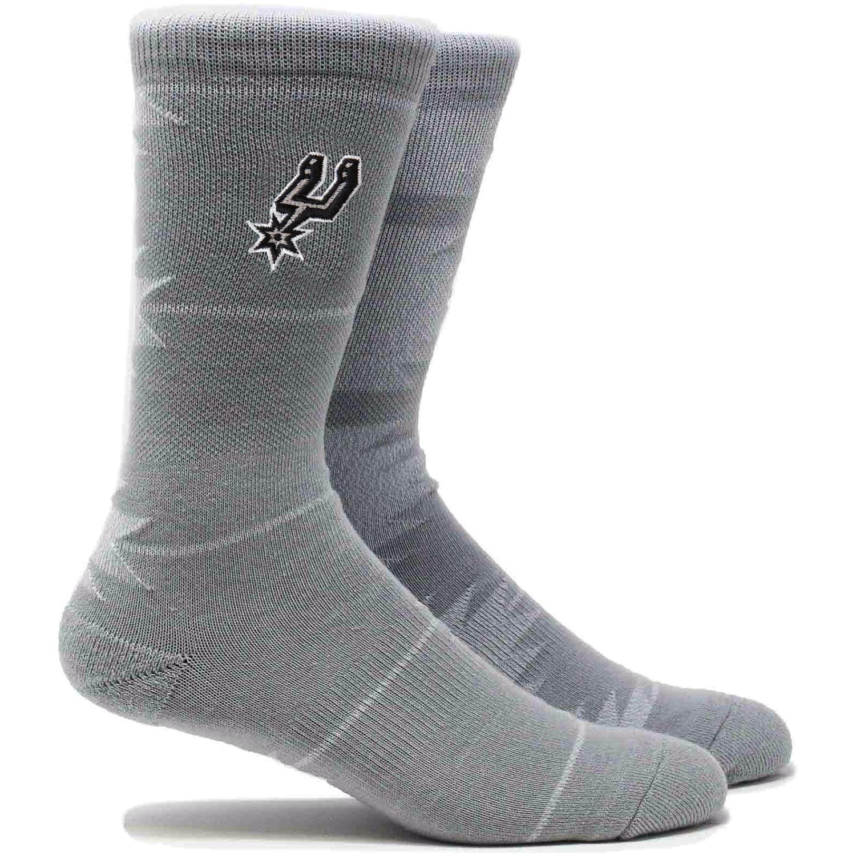 San Antonio Spurs Geo Crew Socks - L
