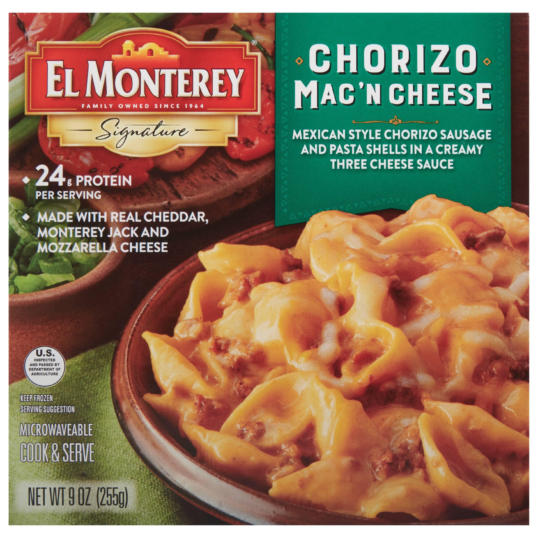 El Monterey Chorizo Mac & Cheese Bowl, 9 oz - Walmart com