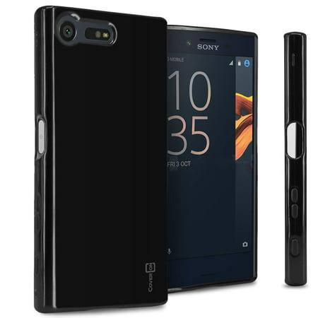 cheap for discount 6f1b1 951dd CoverON Sony Xperia X Compact Case, FlexGuard Series Soft Flexible Slim Fit  TPU Phone Cover